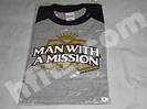 マンウィズMUSH UP THE WORLD 王冠 Tシャツ買取価格