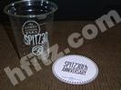 スピッツカフェのカップとコースター