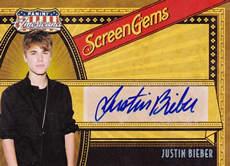 ジャスティンビーバー公式直筆サイン