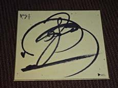 中島みゆき直筆サイン色紙